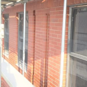 Brick Building Cleaning