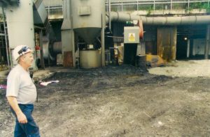 Cleaning Industrial Equipment