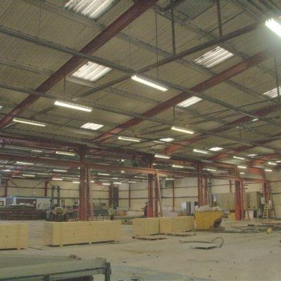 Industrial Floor Cleaning - Before