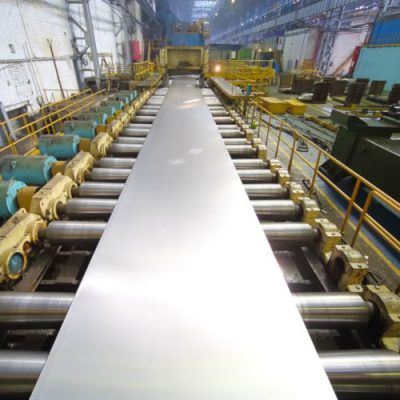 Rolling mill pressing machine cleaning