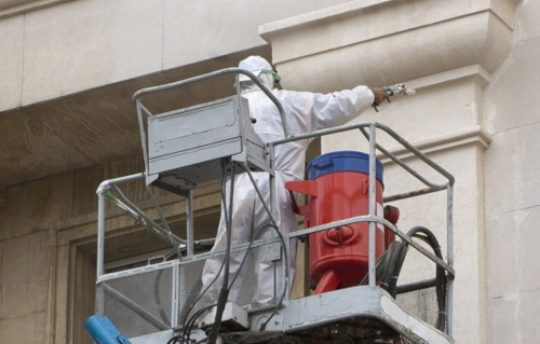 soda blast building stone cleaning services uk