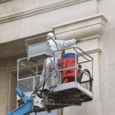 soda blast stone cleaning services uk